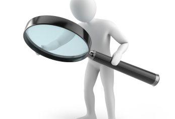 illustration magnifying glass