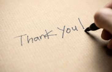 Recognition such a thank you notes goes a long way