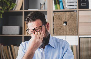 A person experiencing leader fatigue